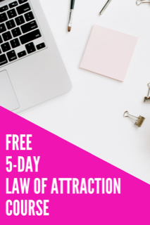 free course on the barriers to manifesting using the law of attraction