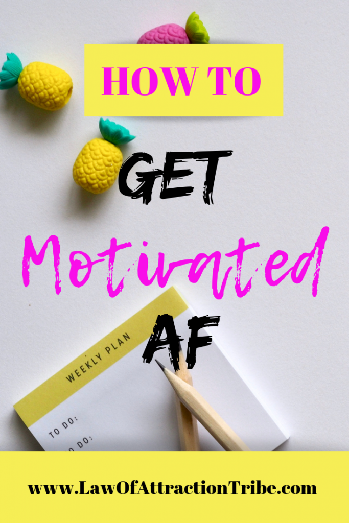 Helpful tips on how to get and stay motivated.